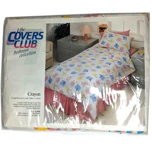 The Covers Club kids single bed cover vintage